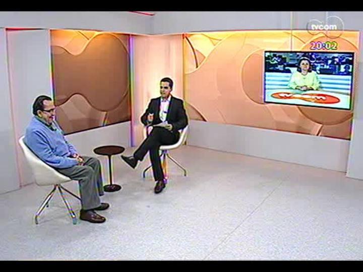 TVCOM 20 Horas - Entrevista com o ex-deputado e fundador do PDT, Carlos Araujo - Bloco 1 - 26/09/2013