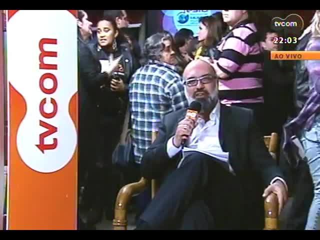 Festa Nacional da Música 2013 - Roger Lerina e Juarez Fonseca comentam a cerimônia de premiação