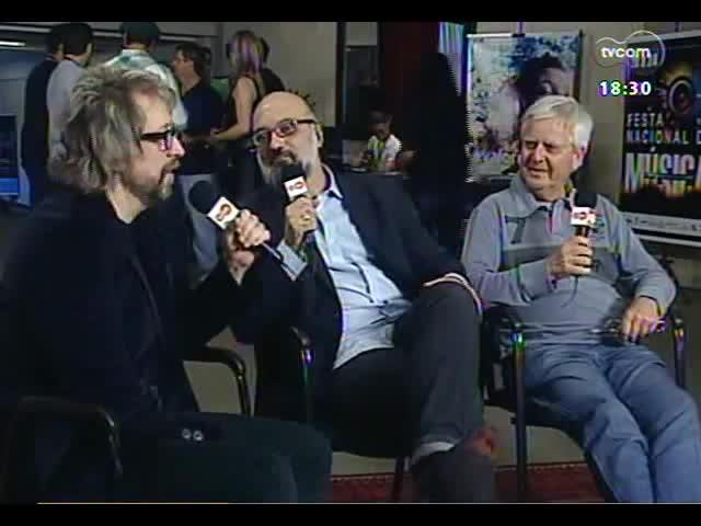 Café TVCOM - Um bate papo com dois convidados especiais direto da Festa Nacional da Música - Bloco 3 - 26/10/2013