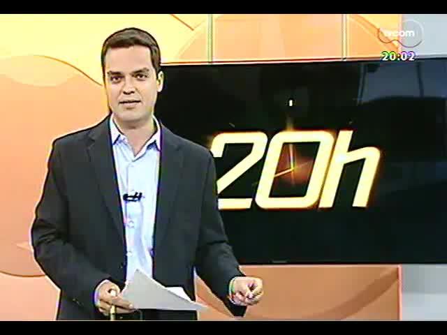 TVCOM 20 Horas - Deputado Ernani Polo fala sobre o acordo que empresas de telefonia fazem para melhorar o serviço - Bloco 1 - 04/11/2013