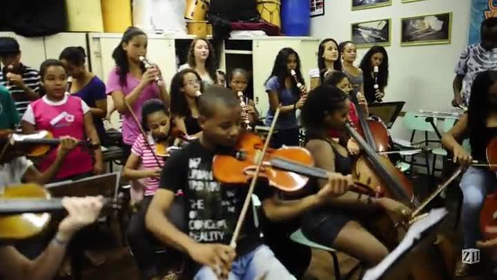 Orquestra Villa-Lobos mostra seu trabalho