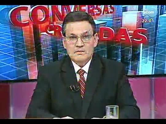Conversas Cruzadas - Debate sobre o reajuste salarial dos rodoviários - Bloco 1 - 17/02/2014
