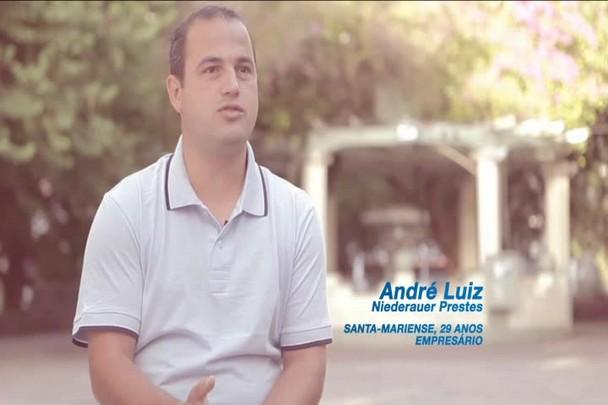 Santa Maria Somos Nós - André