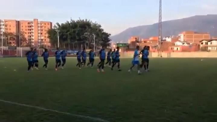 Barcos considera empate um bom resultado na Colômbia. 02/04/2014