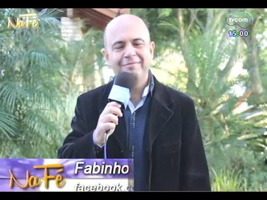 Na Fé - Clipes de música gospel e bate-papo com Talles Roberto - 08/06/2014 - bloco 1