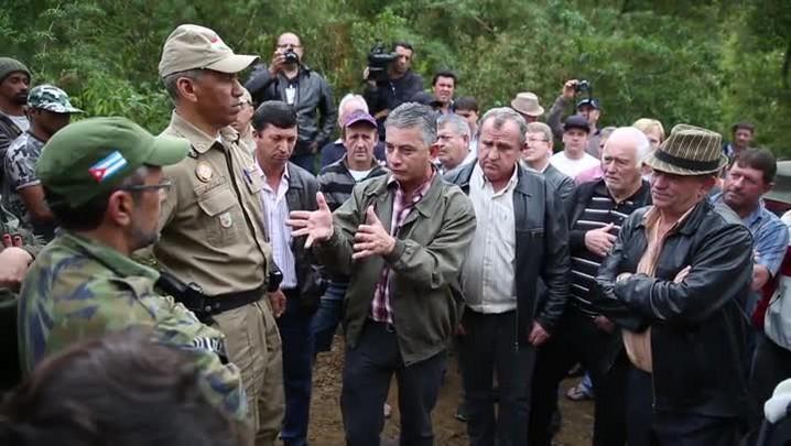 Moradores de Águas Mornas não aceitam o assentamento da Ocupação Amarildo na região