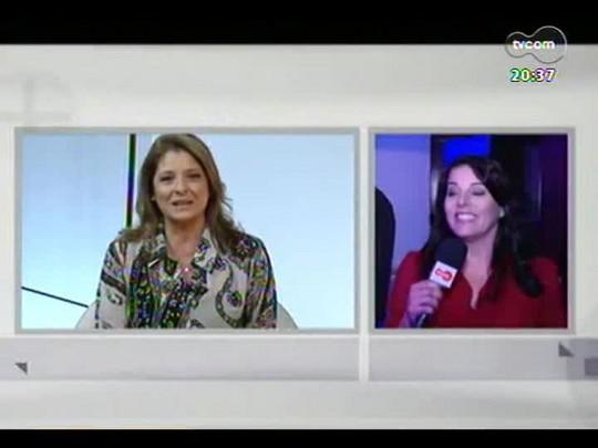 TVCOM Tudo Mais - Tanira Lebedeff entrevista Deborah Finocchiaro no POA em Cena