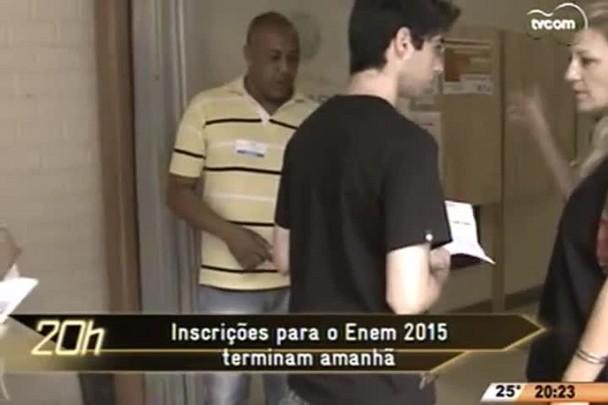 TVCOM 20 Horas - Professora de redação, Rute Coelho, dá dicas na hora de fazer a redação do Enem - 04.06.15