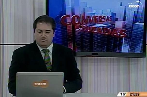 Conversas Cruzadas - Prefeito César Souza Junior avalia gestão em Florianópolis - 1º Bloco - 21.07.15