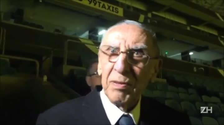 """Hélio Dourado conhece a Arena: \""""É uma alegria, uma satisfação\"""""""