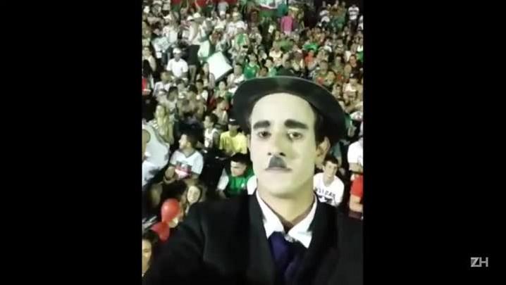 O Charlie Chaplin do Aldo Dapuzzo