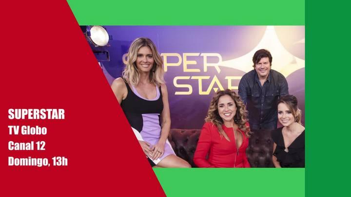 Estreia da nova temporada do SuperStar e outros destaques do final de semana