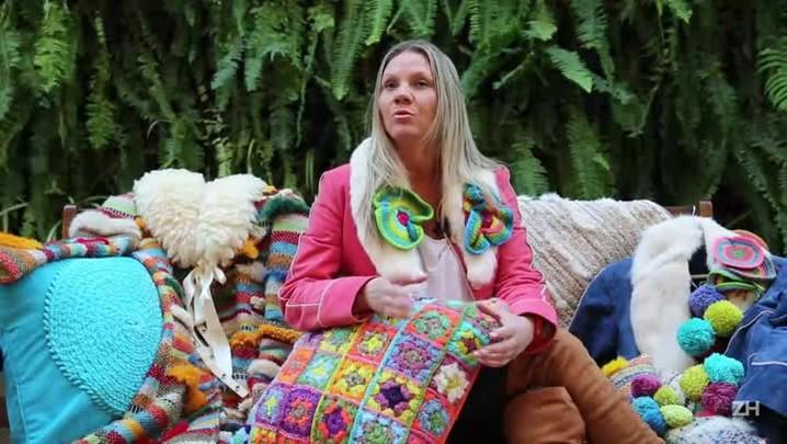 Conheça as almofadas com cara de inverno de Luciana Borges de Andrade