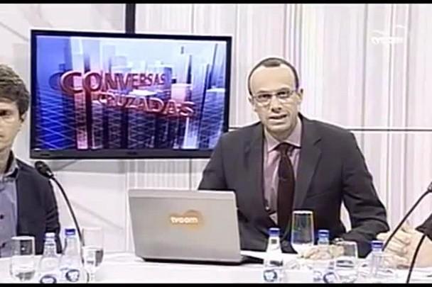 TVCOM Conversas Cruzadas. 2º Bloco 15.06.16
