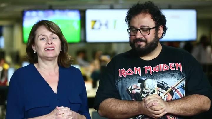 Colunista Marta Sfredo e editor Carlos André comentam a obra de Elena Ferrante