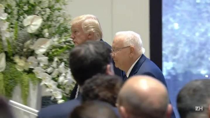 Trump visita Israel e volta a atacar o Irã