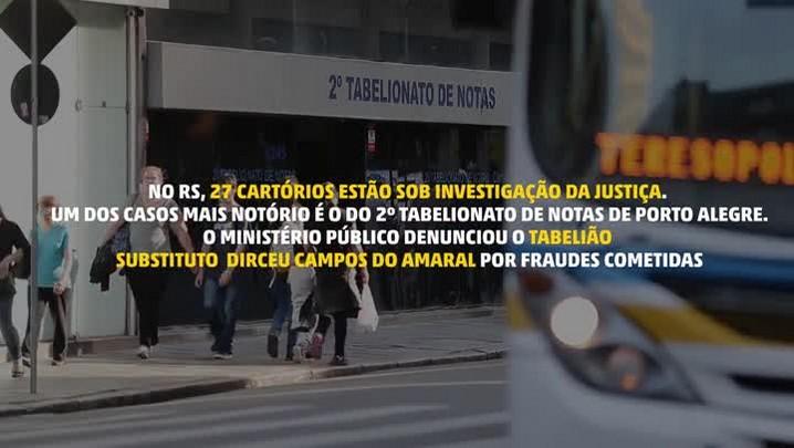Vítimas relatam golpe aplicado por tabelião na Capital