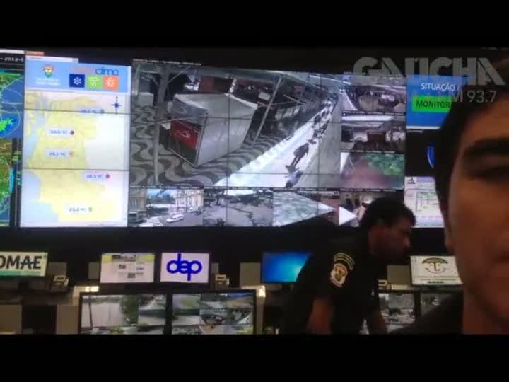 Inaugurado Centro Integrado de Comando que vai monitorar Porto Alegre através de 300 câmeras de vídeo