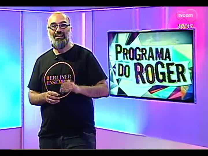 """Programa do Roger - Yamandu Costa traz show \""""Íntimo\"""" - bloco 1"""