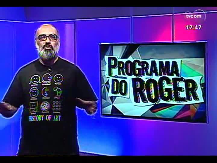Programa do Roger - Apresentação e entrevista com a banda Dis Moi - bloco 1