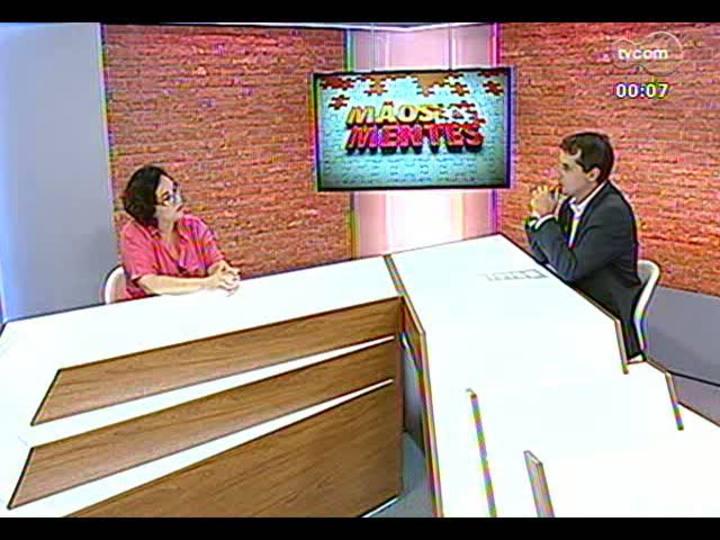 Mãos e Mentes - Coordenadora da Agência da Boa Notícia, Andrea de Freitas - Bloco 4 - 19/02/2013