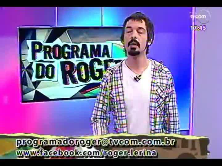 Programa do Roger - Confira a participação de Bella Stone - bloco 1 - 21/02/2013