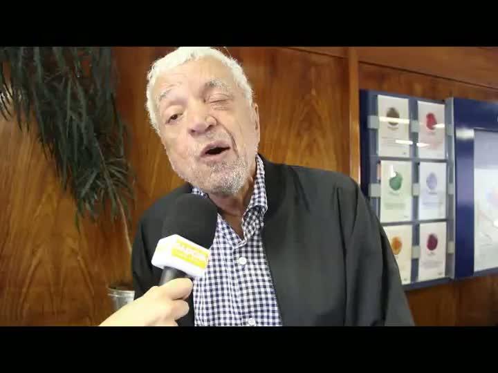 """Paulo Sant\'Ana sobre a conquista do Grêmio na Libertadores de 1983: \""""Eu fiz o título\"""". 04/03/2013"""