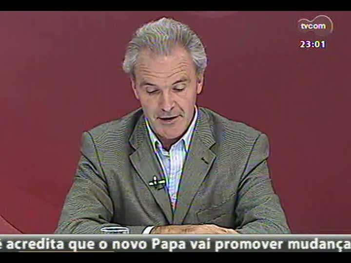 Conversas Cruzadas - Discussão sobre o novo Papa Jorge Mario Bergoglio - Bloco 3 - 13/03/2013