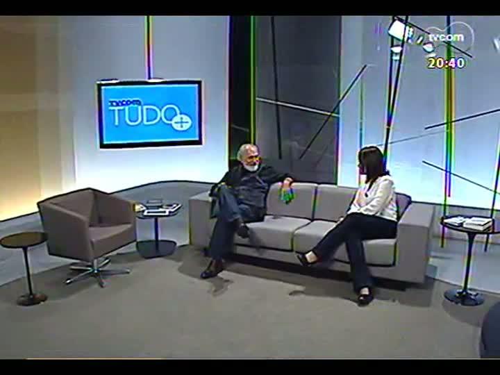 TVCOM Tudo Mais - Sara Bodowsky entrevista o ator francês de teatro Maurice Durozier