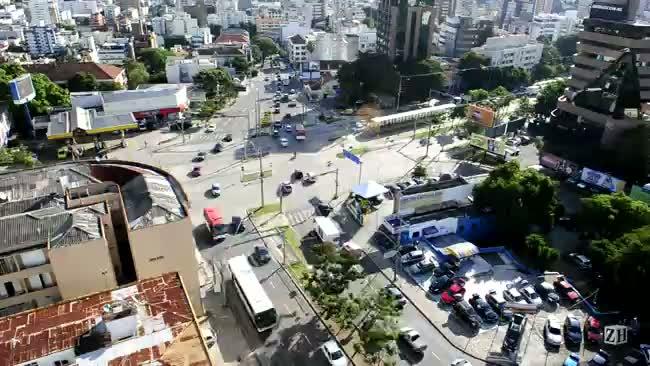 Cruzamento da Terceira Perimetral com Plínio Brasil Milano