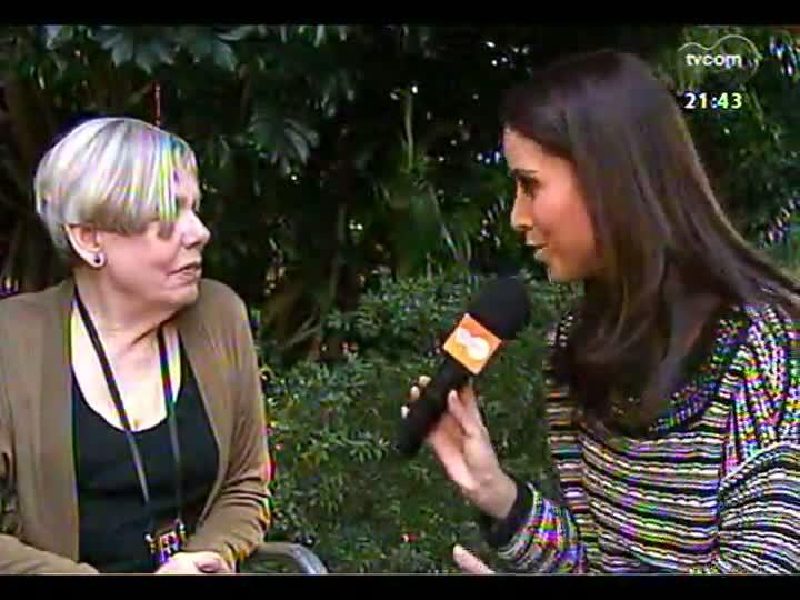 TVCOM Tudo Mais - Entrevista exclusiva com a escritora Karen Armstrong, que participou do Fronteiras do Pensamento