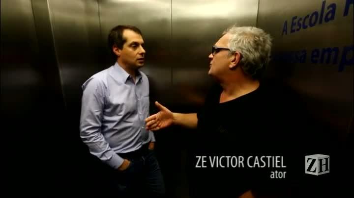 Conversa de elevador com Zé Victor Castiel