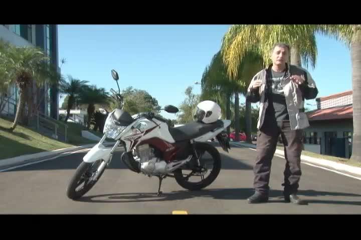 Carros e Motos - Um teste na nova Honda Titan CG 150 e detalhes sobre o equipamento ESP - Bloco 2 - 18/08/2013