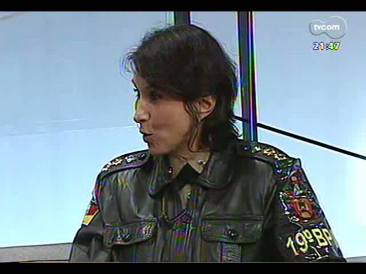 TVCOM Tudo Mais - Conheça a primeira mulher do Estado à frente de um batalhão da Polícia Militar