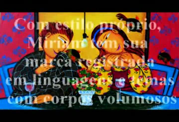 Galeria de Arte Bublitz apresenta nova fase de Miriam Postal. 23/08/2013