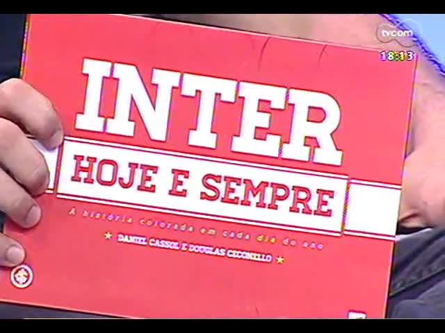 Programa do Roger - Jornalista Douglas Ceconello fala do livro \'Inter hoje e sempre\' - bloco 3 - 10/09/2013