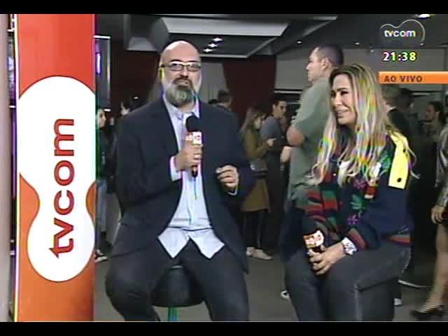 TVCOM Tudo Mais - Roger Lerina entrevista Rosemary direto da Festa Nacional da Música