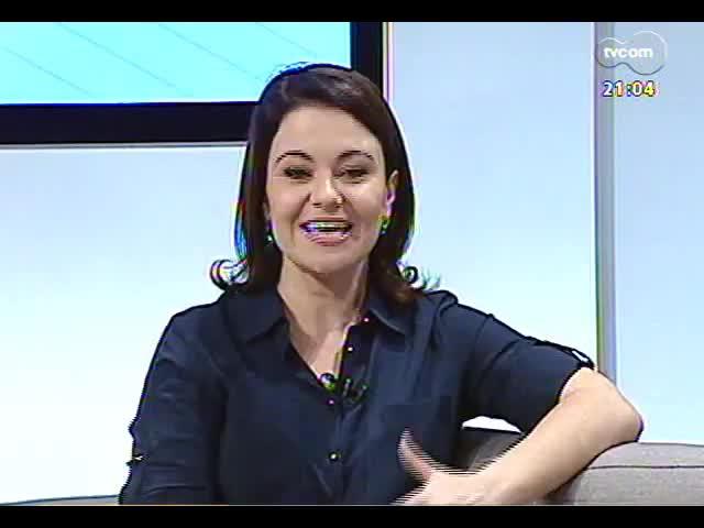 TVCOM Tudo Mais - Entrevista com uma das integrantes do Coletivo Educ-Ação, Camila Piza