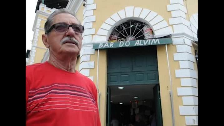 Alvim, dono do boxe 01 do Mercado Público, dá entrevista ao DC