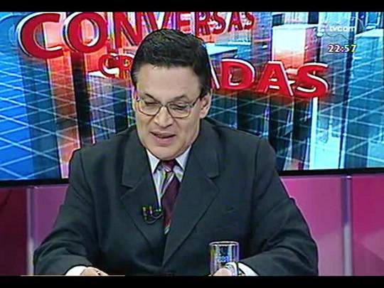 Conversas Cruzadas - O avanço dos crimes violentos e em cidades do interior do estado - Bloco 3 - 10/02/2014