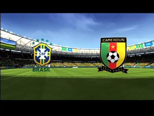 Taça Virtual: Brasil x Camarões