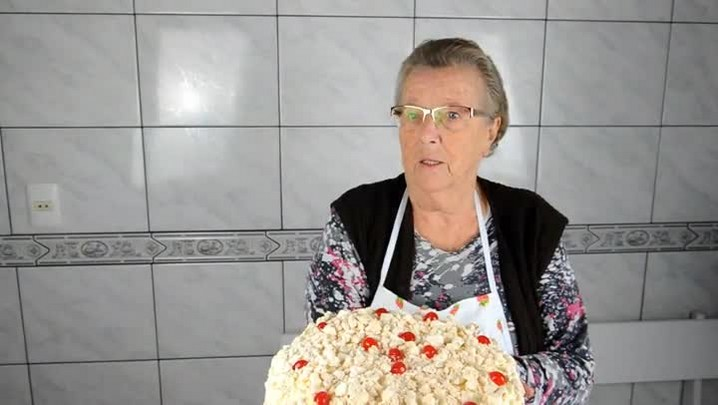 Receita de torta de chocolate e coco