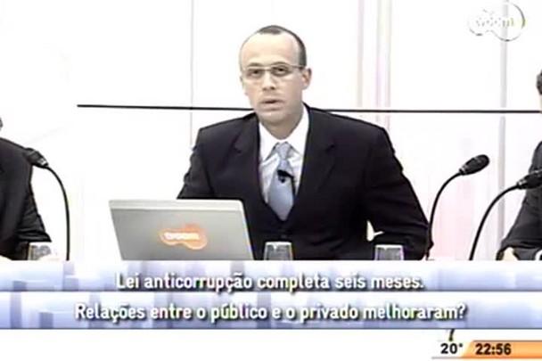 Conversas Cruzadas - Lei anticorrupção completa seis meses - 4º Bloco - 31/07/14