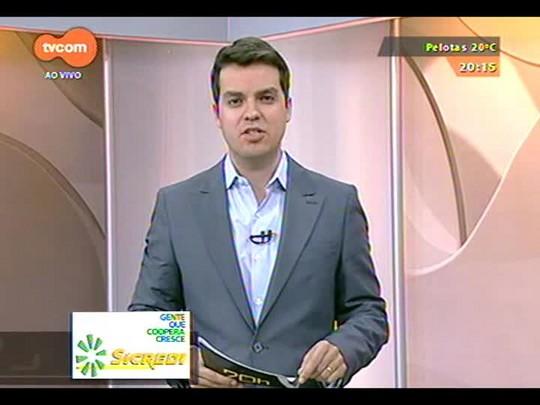TVCOM 20 Horas - Começam a ser instalados amanhã rastreadores nos táxis de Porto Alegre - Bloco 3 - 04/09/2014
