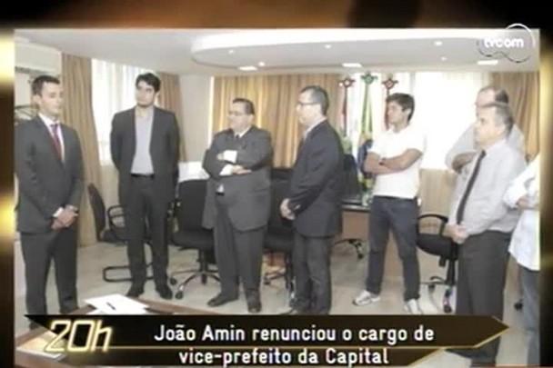 TVCOM 20h - João Amin será diplomado amanhã deputado estadual - 16.12.14