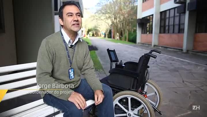 Rumo: projeto da Unisinos utiliza tablet para melhorar acessibilidade