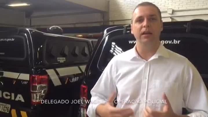 Delegado Joel Wagner fala sobre operação contra crimes comandados de dentro da Pasc