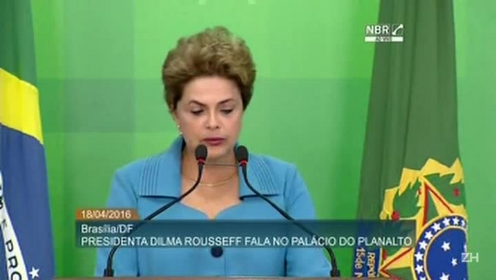 Dilma diz que se sente 'injustiçada' e 'indignada'