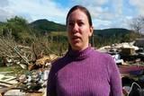 Moradora de Porto Uni�o fala da morte de vizinho