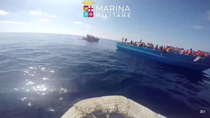 Itália resgata 6.500 migrantes no Mediterrâneo
